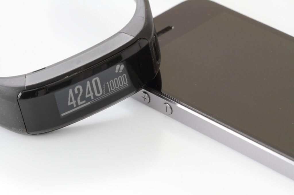 Activity Tracker mit Smartphone