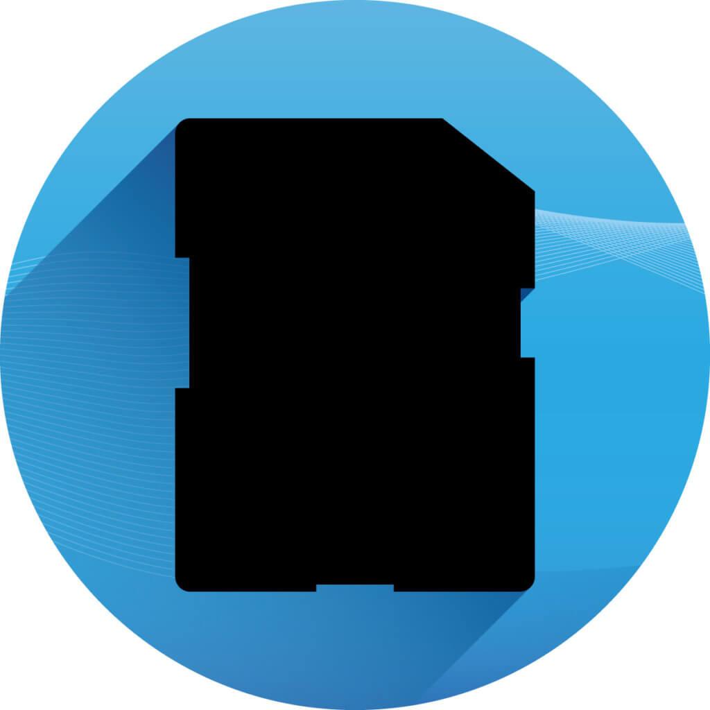Speicherkarte - Icon