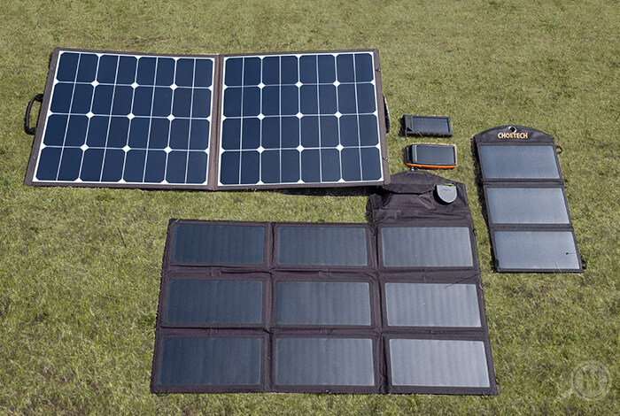 Solarladegeräte