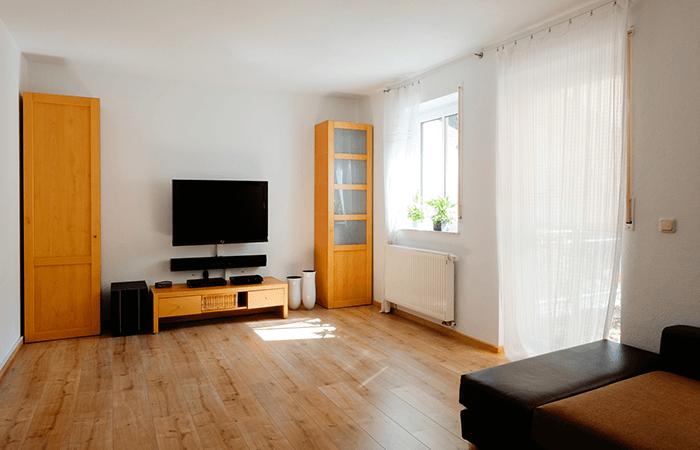 Soundbar im Wohnzimmer