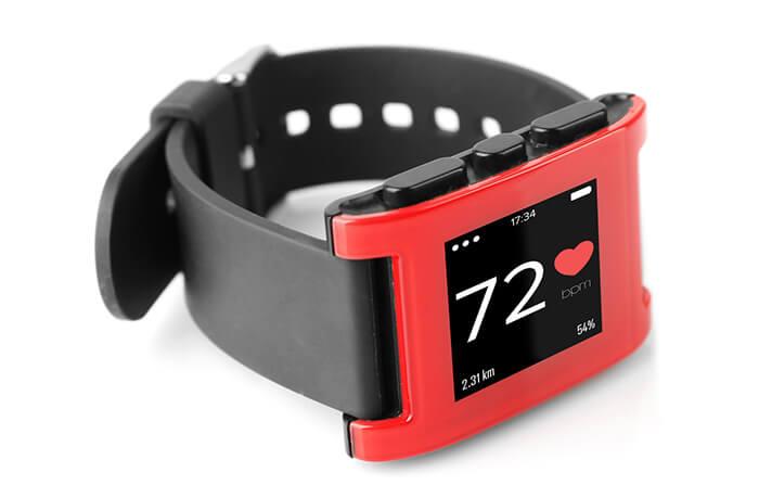 Fitness-Armband mit Herzfrequenzanzeige