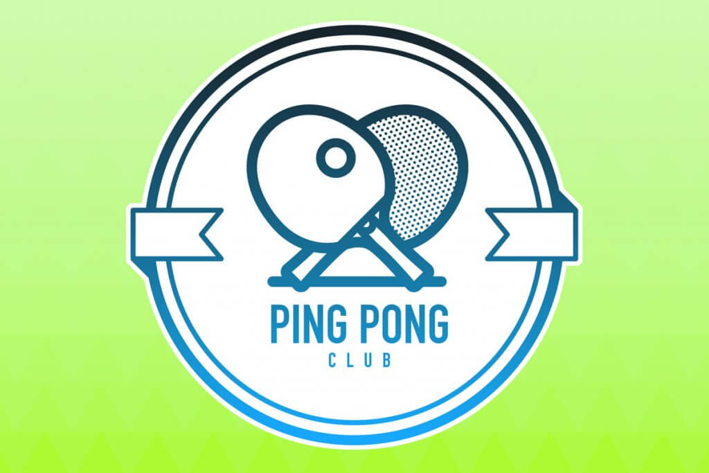 Logo eines Tischtennisclubs