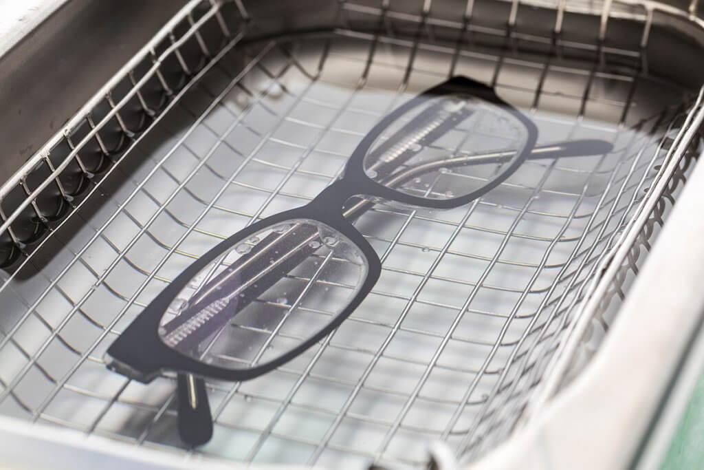 Ultraschallreiniger Brillenreinigung