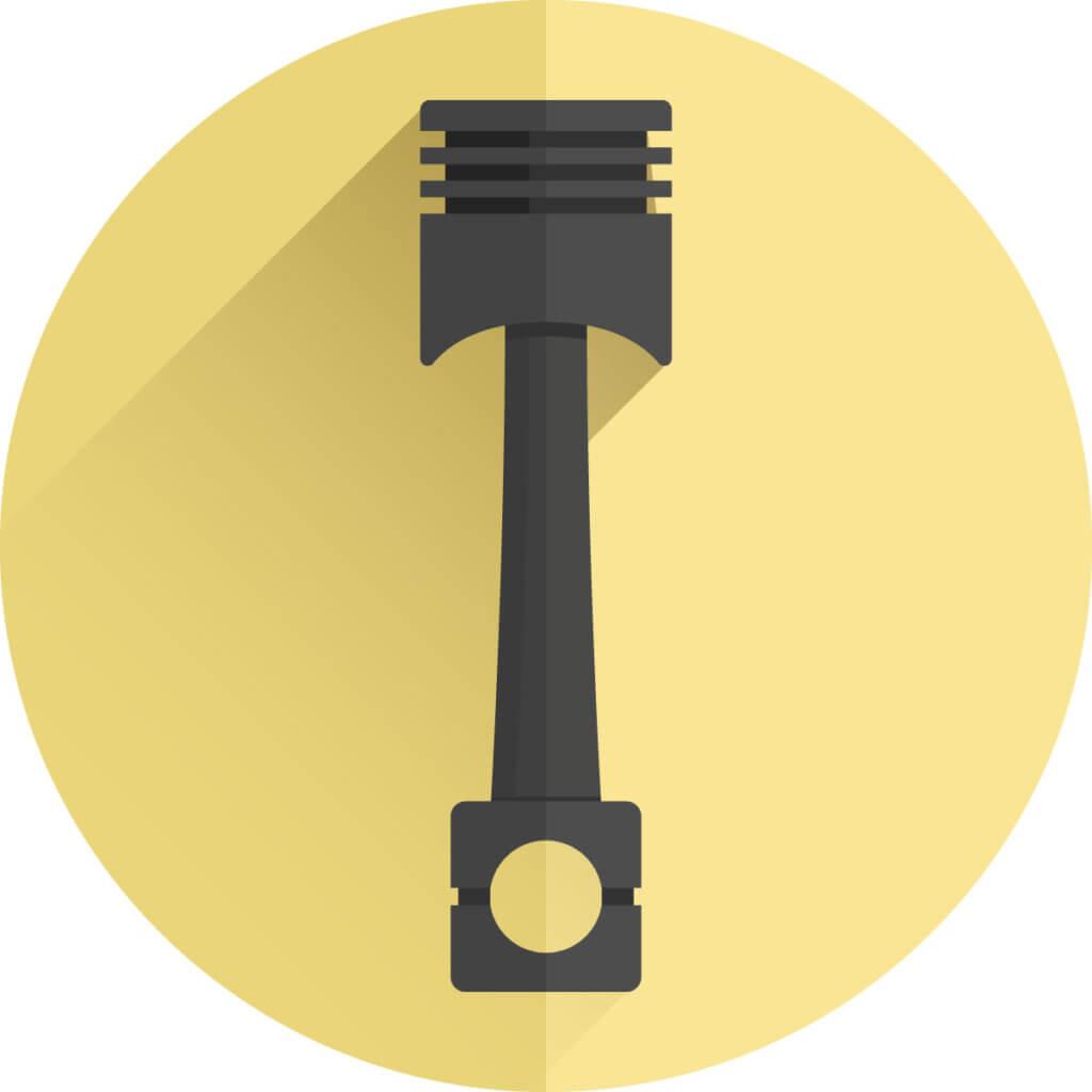 Icon von einer Kolbenpumpe