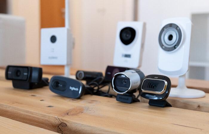verschiedene Webcams